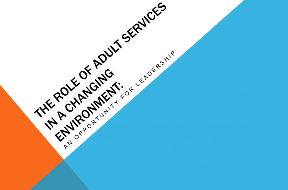 Role of Adult Services